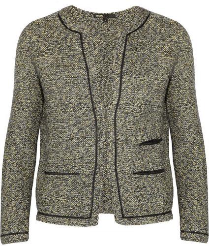 Maje Panpibi wool-blend tweed jacket