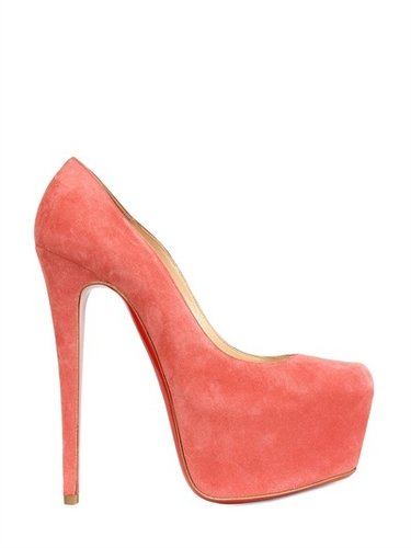 Christian Louboutin - 160mm Daffodile Suede Pumps