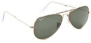Ray-ban Foldable Unisex Aviator Sunglasses