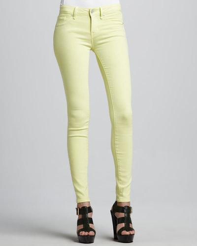 MARC by Marc Jacobs Stick Skinny Jeans, Lemon Sorbet