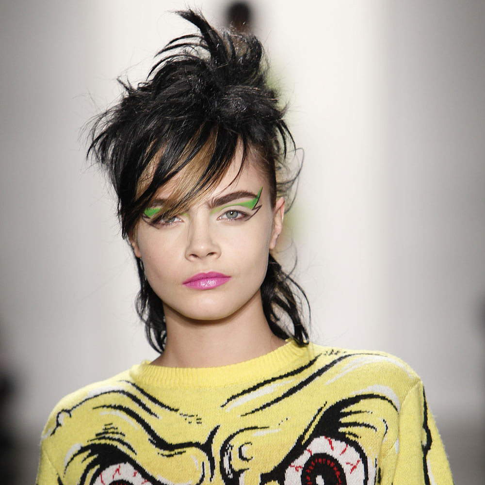 February 2013: Fall NYFW Fashion Week Jeremy Scott