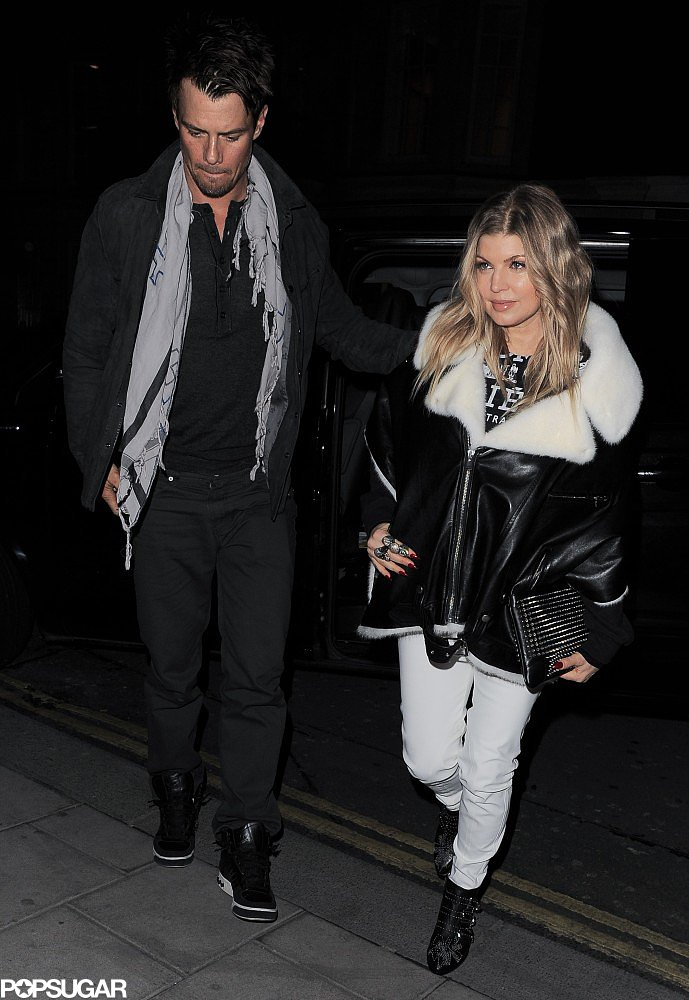 Josh Duhamel and Fergie had a date night together.