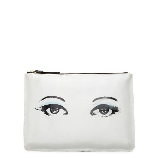 """This Kate Spade All Hours Winking pouch ($49, originally $98) actually """"winks"""" at you. How cool is that?"""