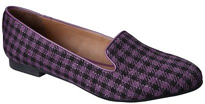 Women's Mossimo® Vianca Tuxedo Flat - Purple/Black