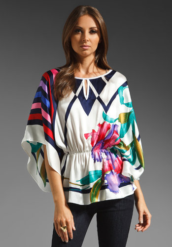 VOOM by Joy Han Rosemary Caftan Top