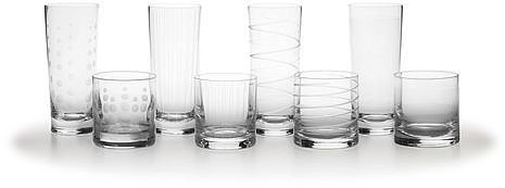 Cheers Highball & Double Old Fashioned Glasses, Set of 8