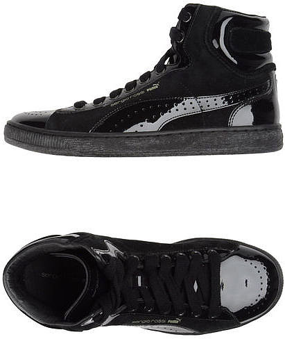 PUMA BY SERGIO ROSSI High-top sneaker