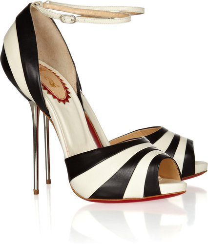 Christian Louboutin 20th Anniversary Armadillo Bride 120 leather pumps