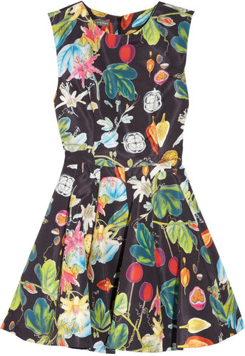 Camilla and Marc Revival printed twill mini dress