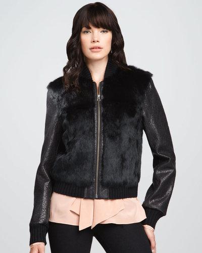 Elizabeth and James Brice Fur Jacket