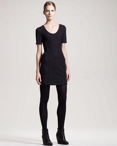Theory Herringbone Dress