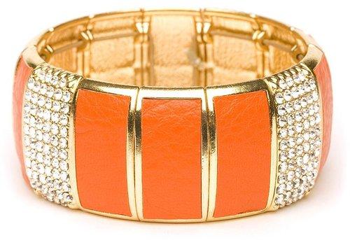Orange Glitz Cuff