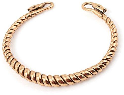 Gold Twist Cuff