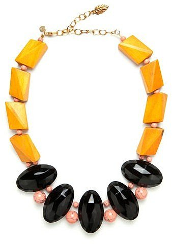 Maize Wood Necklace
