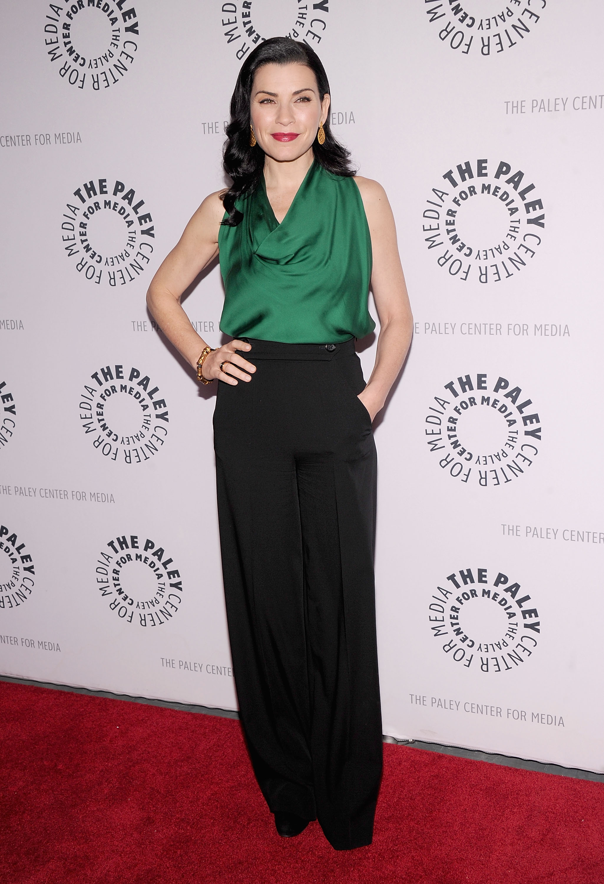 Julianna Margulies at the Paley Center For Media in New York.