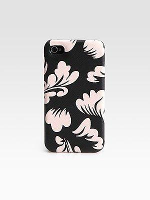Saffiano Leather iPhone Case