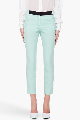 A.L.C. Mint Green Collins Pants