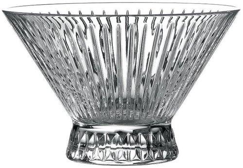 Royal doulton manhattan 9-in. crystal bowl