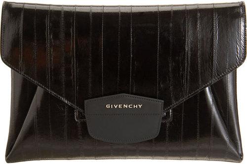 Givenchy Eelskin Antigona Envelope Clutch
