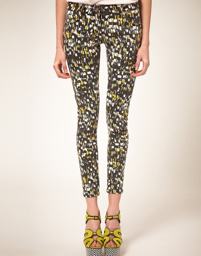 Sass & Bide Sass and Bide 'The Archetype' Feather Print Jeans