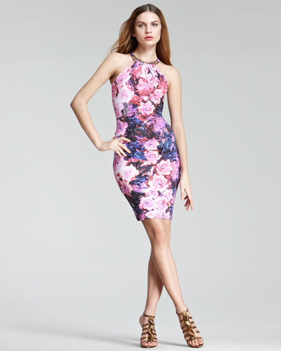 Roberto Cavalli Floral Sheath Dress