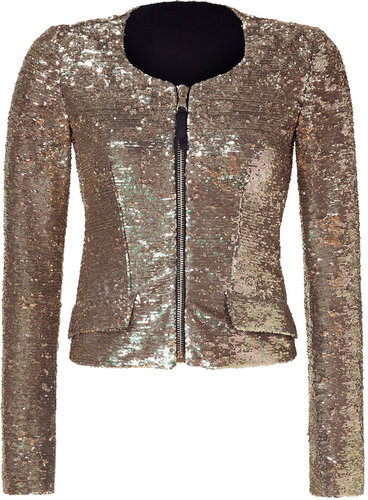 D&G Dolce & Gabbana Gold Sequin Jacket