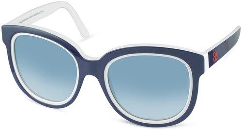 Balenciaga Two-Tone Teacup Sunglasses
