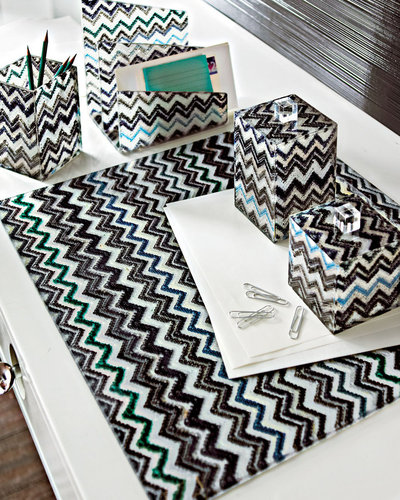 Chevron Desk Accessories