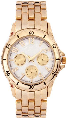 ASOS Premium Gold Boyfriend Watch