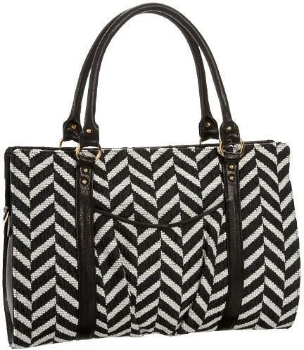 Lauren Merkin Juliette Chevron Satchel