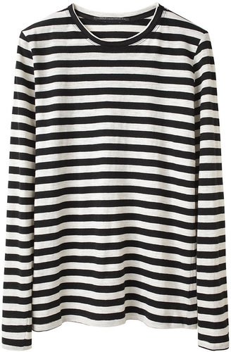 Proenza Schouler / Striped Tissue T-Shirt
