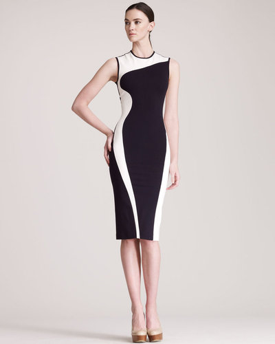 Stella McCartney Contour-Colorblock Sheath Dress