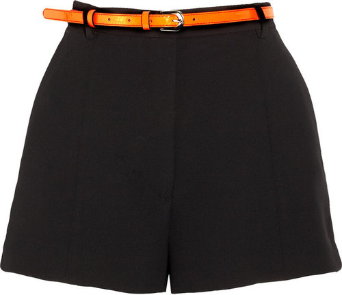 Sandro Tailored crepe shorts