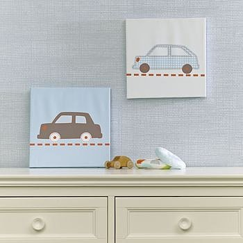 Bumper To Bumper Canvas Wall Art