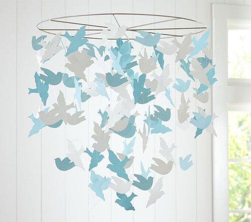 Bird Paper Mobile