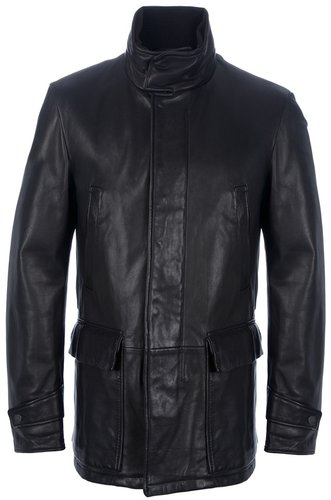 Ermenegildo Zegna leather jacket