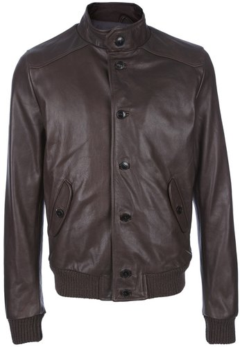 Dacute leather jacket