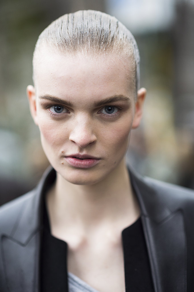 Neutral makeup looked gorgeous on Juliane Grüner. Source: Le 21ème | Adam Katz Sinding