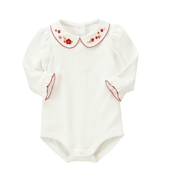 Gymboree Flower Bodysuit