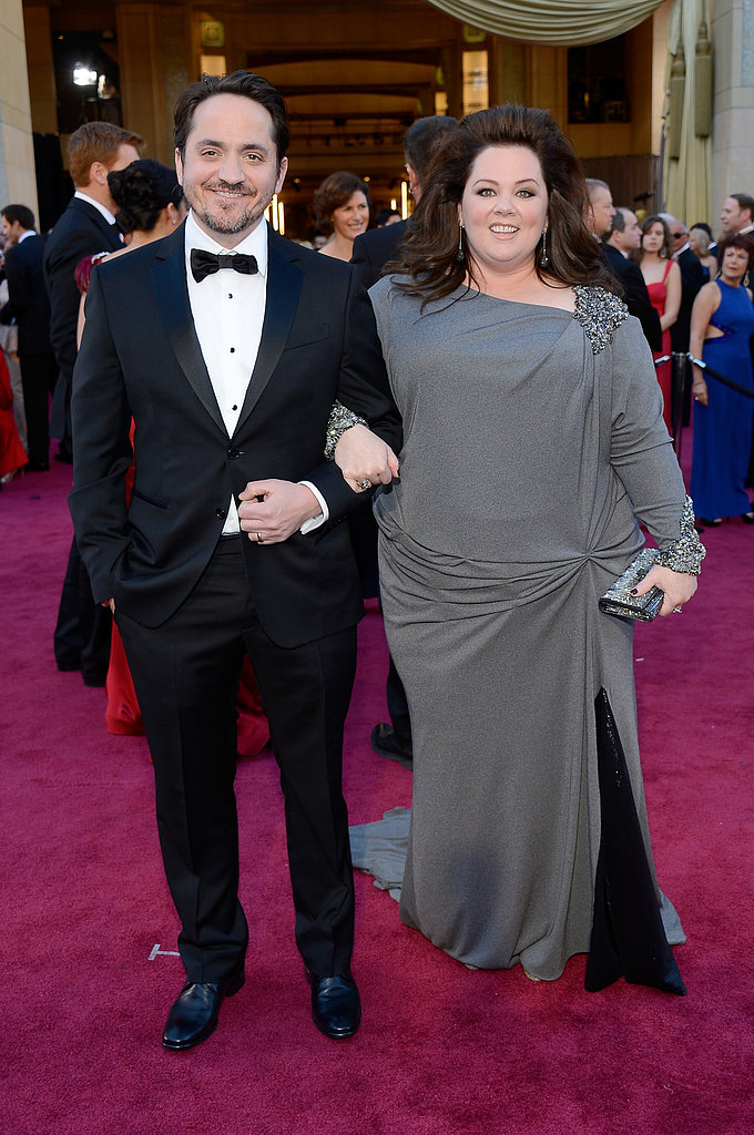 Ben Falcone and Melissa McCarthy