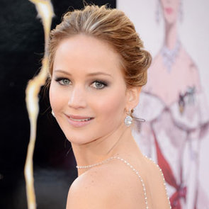 Pictures of Jennifer Lawrence at the 2013 Oscars