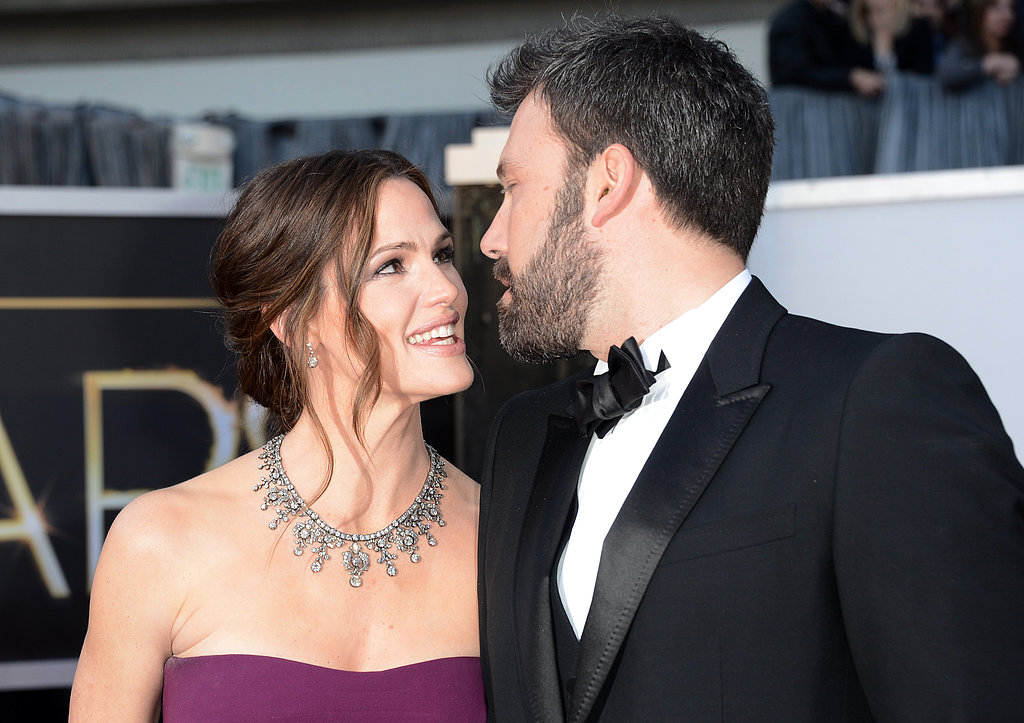 Ben Affleck and Jennifer Garner shared a look of love at the Oscars.