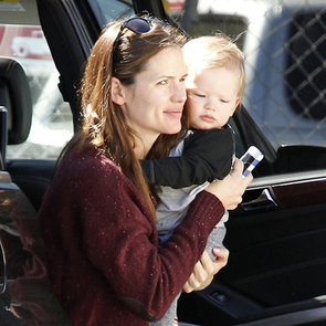 Jennifer Garner Taking Sera and Sam to Lunch | Pictures