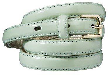 Merona® Skinny Belt - Mint Green