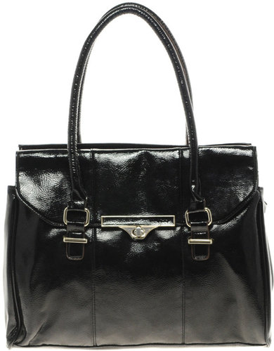 Black Structured Tote