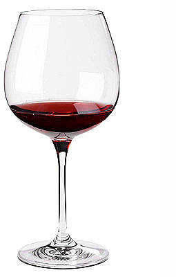 Wine Enthusiast Wine Glasses, Set of 4 Fusion Classic Pinot Noir