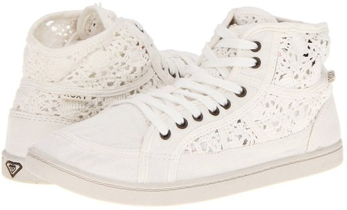 Roxy - Rockie Crochet (Off White) - Footwear