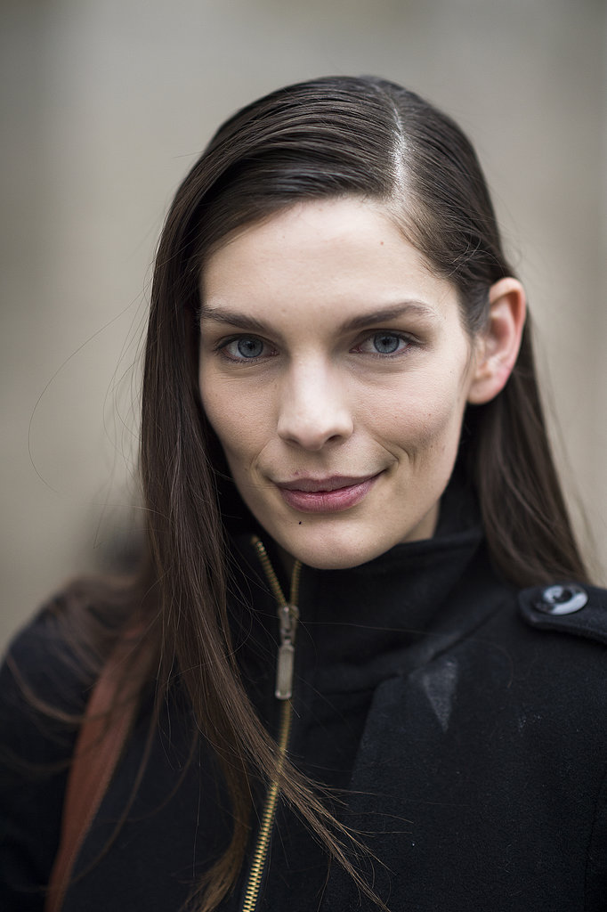 Try a bold, brushed-up brow look like Michelle Stackley's for Spring. Source: Le 21ème | Adam Katz Sinding