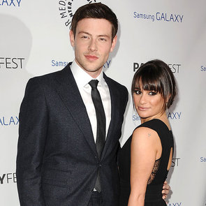 Lea Michele and Cory Monteith Pictures at PaleyFest