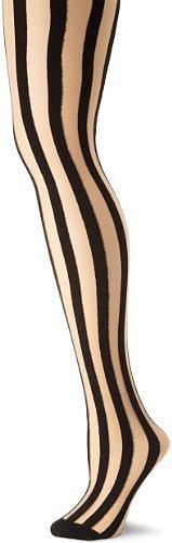 Leg Avenue Women's Sheer Vertical Stripe Pantyhose